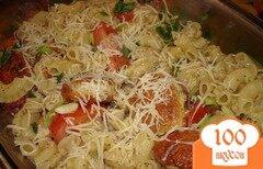 Фото рецепта: «Паста с фрикадельками и помидором»