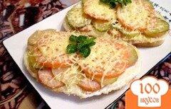 Фото рецепта: «Запеченный бутерброд»