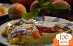 Фото рецепта: «Персиковое клафути»