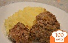 Фото рецепта: «Нежные отбивные из говяжей печени»