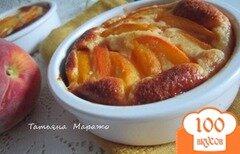 Фото рецепта: «Десертные запеканки с персиками»