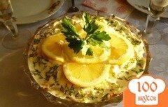 Фото рецепта: «Салат с маринованными шампиньонами»