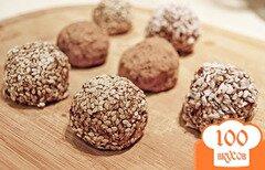 Фото рецепта: «Домашние шоколадные конфеты»