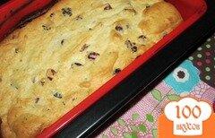 Фото рецепта: «Творожный кекс с вялеными ягодами»