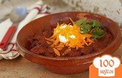 Фото рецепта: «Чили-суп с шоколадом»