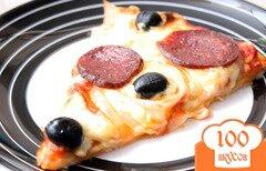 Фото рецепта: «Пицца с колбаской»