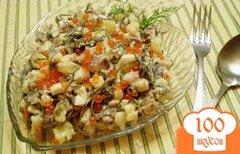 Фото рецепта: «Салат из морских водорослей»