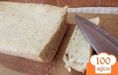 Фото рецепта: «Хлеб бездрожжевой, на соде со специями и кунжутом»