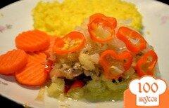 Фото рецепта: «Курица в ананасовом соусе»