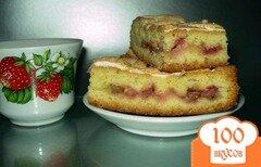 Фото рецепта: «Пирог из ревеня»