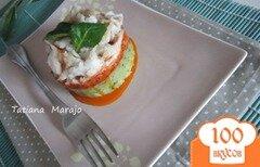Фото рецепта: «Рыбное филе на овощной подушке»