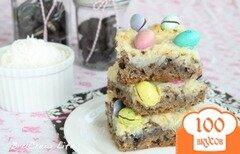 Фото рецепта: «Пирожные с кокосом и конфетами»