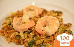 Фото рецепта: «Розмариновые креветки в винном соусе»