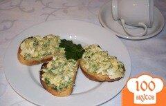 Фото рецепта: «Гренки с брюссельской капустой»