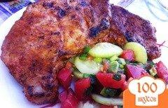 Фото рецепта: «Мясо гриль с овощами»