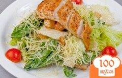 Фото рецепта: «Салат Цезарь с курицей»
