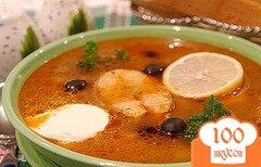 Фото рецепта: «Солянка рыбная в мультиварке»