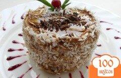 Фото рецепта: «Пирожное из творожного теста на сковороде»