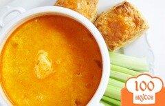 Фото рецепта: «Куриный суп Буффало с кукурузой»