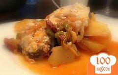 Фото рецепта: «Рыба по-испански»