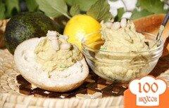Фото рецепта: «Гуакамоле из белой фасоли»