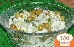 Фото рецепта: «Нежный салат из пекинской капусты»