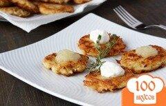 Фото рецепта: «Картофельные оладьи»