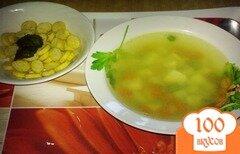 Фото рецепта: «Суп из курицы с горошком»