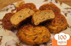 Фото рецепта: «Рыбные котлеты в духовке»