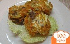 Фото рецепта: «Ленивые голубцы с хрустящей корочкой»