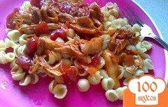 Фото рецепта: «Острая паста с курицей»