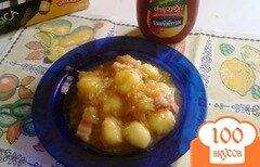 Фото рецепта: «Картофельные клецки с соусом.»