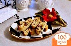 Фото рецепта: «Бискотти с вишней и миндалем»