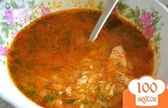 Фото рецепта: «Суп харчо из курицы»
