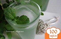 Фото рецепта: «Мятно-имбирный напиток»