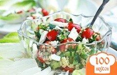 Фото рецепта: «Салат Табуле с сыром фета»