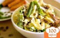 Фото рецепта: «Салат с курицей и капустой»