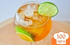 Фото рецепта: «Лаймовый коктейль»