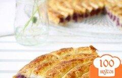 Фото рецепта: «Пирог с капустой и яблоком»