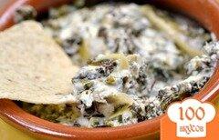 Фото рецепта: «Козий сыр со шпинатом»