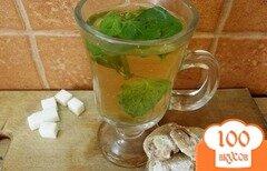 Фото рецепта: «Напиток травяной с мятой»