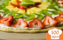 Фото рецепта: «Фруктовая пицца»