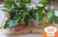 Фото рецепта: «Cэндвич по-холостяцки»