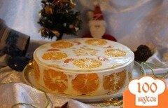 """Фото рецепта: «Желейный торт """"Фруктовый год""""»"""