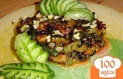 Фото рецепта: «Жареные кабачки с чесноком и соевым соусом»
