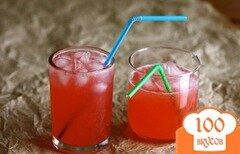 Фото рецепта: «Малиновый лимонад»