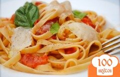 Фото рецепта: «Паста с помидорами»