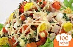 Фото рецепта: «Салат с грибами вешенками»