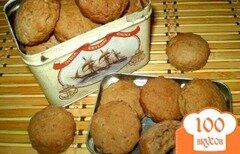 Фото рецепта: «Печенье с грушевым вареньем и корицей»