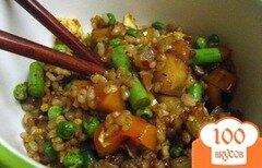 Фото рецепта: «Рис с яйцом и овощами»